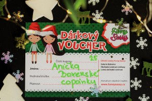 vánoční voucher